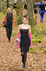 KAIA GERBER Chanel Forest Runway Show in Paris 03/06/2018
