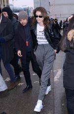 KAIA GERBER Leaves Chloe Show at Paris Fashion Week 03/01/2018