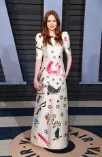 KAREN GILLAN at 2018 Vanity Fair Oscar Party in Beverly Hills 03/04/2018