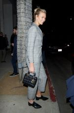 KARLIE KLOSS Arrive at Gagosian Gallery in Beverly Hills 03/01/2018