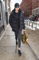 KARLIE KLOSS Heading to a Gym in New York 03/22/2018