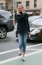 KARLIE KLOSS in Jeans Out in New York 03/08/2018