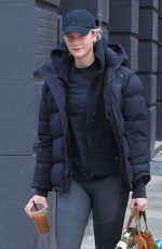 KARLIE KLOSS Out and About in New York 02/22/2018