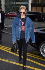 KARLIE KLOSS Out at Paris Fashion Week 03/04/2018