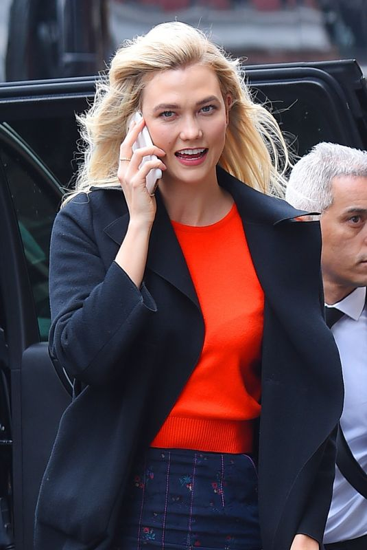KARLIE KLOSS Out in New York 03/08/2018