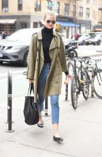 KARLIE KLOSS Out in New York 03/27/2018