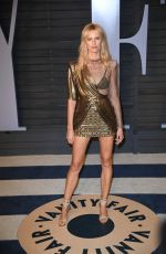 KAROLINA KURKOVA at 2018 Vanity Fair Oscar Party in Beverly Hills 03/04/2018