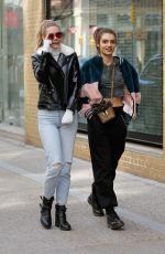 KARSYN BARTRUFF and RUBINA DYAN Out Shopping in New York 03/17/2018