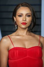 KAT GRAHAM at 2018 Vanity Fair Oscar Party in Beverly Hills 03/04/2018