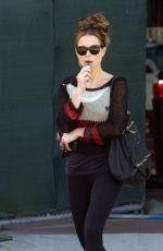 KATE BECKINSALE Out and About in Los Angeles 03/08/2018