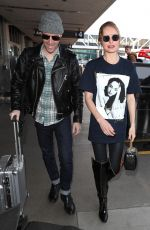 KATE BOSWORTH at LAX Airport in Los Angeles 03/05/2018