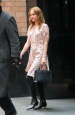 KATE BOSWORTH Leaves Her Hotel in New York 03/21/2018
