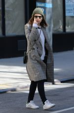 KATE MARA Out and About in New York 03/17/2018