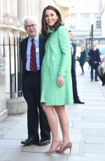 KATE MIDDLETON Arrives at Royal Society of Medicine in London 03/21/2018
