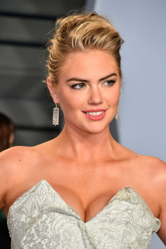 KATE UPTON at 2018 Vanity Fair Oscar Party in Beverly Hills 03/04/2018