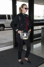 KATE UPTON at Los Angeles International Airport 03/07/2018