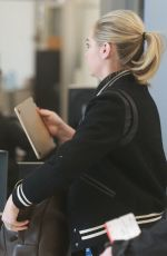 KATE UPTON at Los Angeles International Airport 03/07/2018