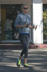 KATE UPTON Out for Coffee at Starbucks in Beverly Hills 03/05/2018