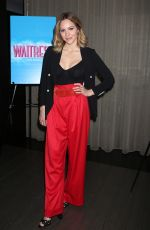 KATHARINE MCPHEE at Waitress the Musical Photocall in New York 03/29/2018