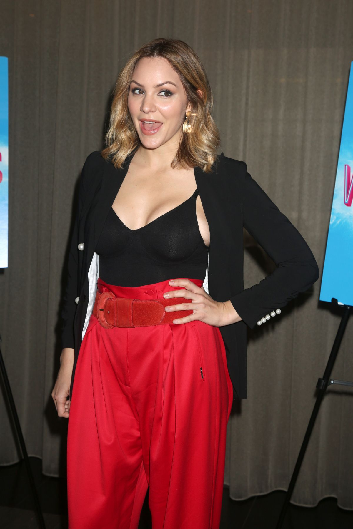 Katharine Mcphee At Waitress The Musical Photocall In New York 03 29 2018 Hawtcelebs