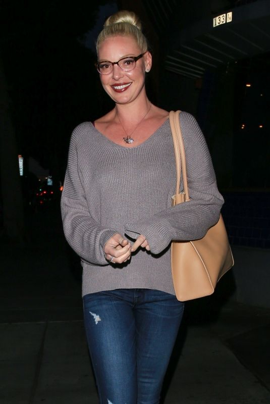 KATHERINE HEIGL Out for Dinner at Matsuhisa Restaurant in Beverly Hills 03/27/2018