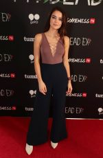 KATHERINE HUGHES at My Dead Ex Premiere on Go90 and Tumblr in Santa Monica 03/19/2018