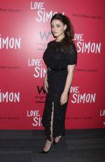 KATHERINE LANGFORD at Love, Simon Premiere in New York 03/08/2018
