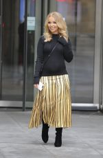 KATIE PIPER Leaves BBC Studios in London 03/10/2018