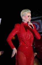 KATY PERRY Performs at Witness Tour in Rio De Janeiro 03/18/2018