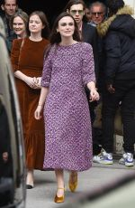 KEIRA KNIGHTLEY at Chanel Forest Runway Show in Paris 03/06/2018
