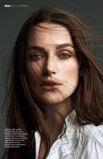KEIRA KNIGHTLEY in Elle Magazine, France March 2018