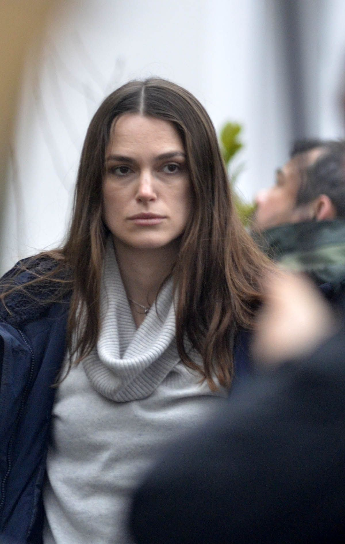 KEIRA KNIGHTLEY on the Set of Official Secrets in Wetherby ...