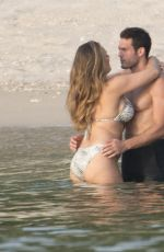 KELLY BROOK in Bikini at a Beach in Phuket 03/09/2018