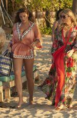 KELLY BROOK in Bikini on Vacation in Phuket 03/08/2018