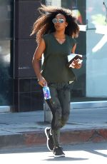 KELLY ROWLAND Out and About in West Hollywood 03/27/2018