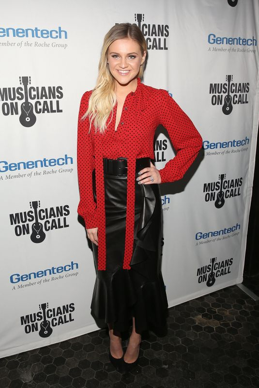 KELSEA BALLERINI at Musicians on Call 5th Anniversary Celebration in Los Angeles 02/28/2018