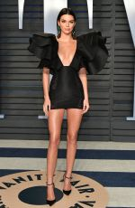 KENDALL JENNER at 2018 Vanity Fair Oscar Party in Beverly Hills 03/04/2018