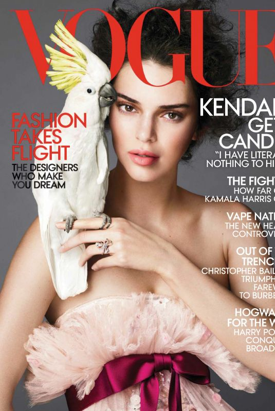 KENDALL JENNER in Vogue Magazine, April 2018