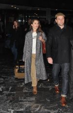 KERI RUSSELL and Matthew Rhys Arrives at Airport in Washington, D.C. 03/20/2018