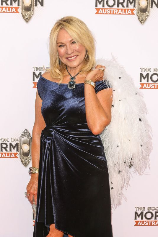 KERRI-ANNE KENNERLEY at The Book of Mormon Opening Night in Sydney 03/09/2018