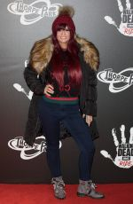 KERRY KATONA at The Walking Dead: The Ride Media Night at Thorpe Park in London 03/29/2018