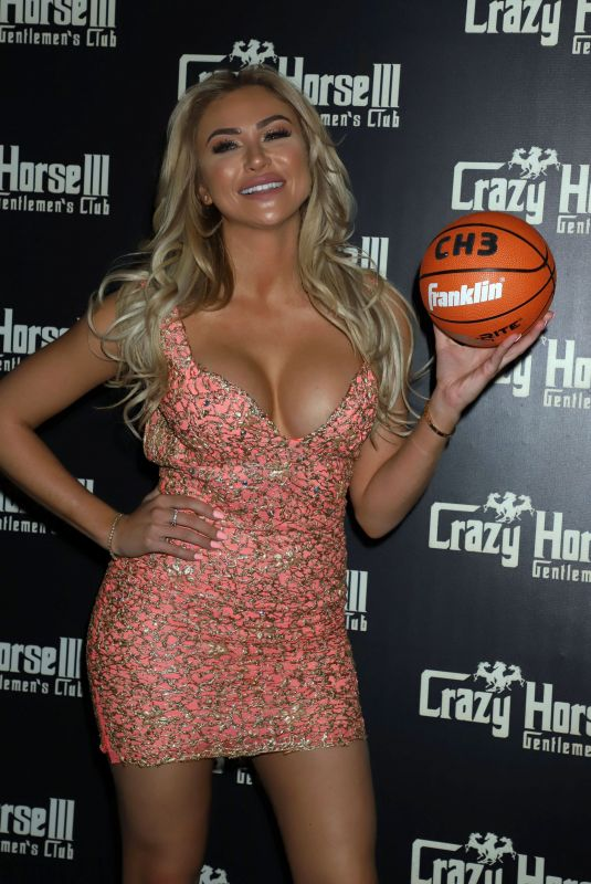 KHLOE TERAE at Hoops and Hottie Event at Crazy Horse III in Las Vegas 03/17/2018