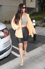 KIM KARDASHIAN at a Studio in Calabasas 03/20/2018