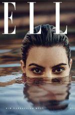 KIM KARDASHIAN in Elle Magazine, April 2018