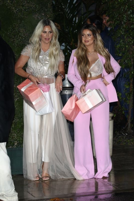 KIM ZOLCIAK and BRIELLE BIERMANN at Khloe Kardashian's Baby Shower in Los Angeles 03/10/2018