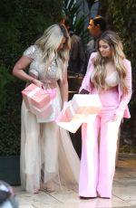 KIM ZOLCIAK and BRIELLE BIERMANN at Khloe Kardashian's Baby Shower in Los Angeles 03/10/2018