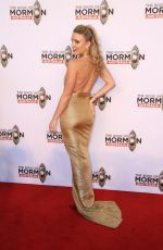 KIRBY BURGESS at The Book of Mormon Opening Night in Sydney 03/09/2018