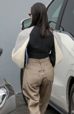 KOURTNEY KARDASHIAN Leaves a Studio in Woodland Hills 03/20/2018