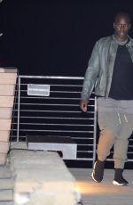 KRIS JENNER Out for Dinner in Malibu 03/30/2018