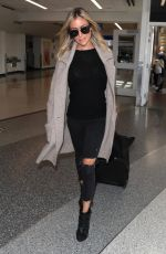 KRISTIN CAVALLARI Arrives at LAX Airport in Los Angeles 02/28/2018